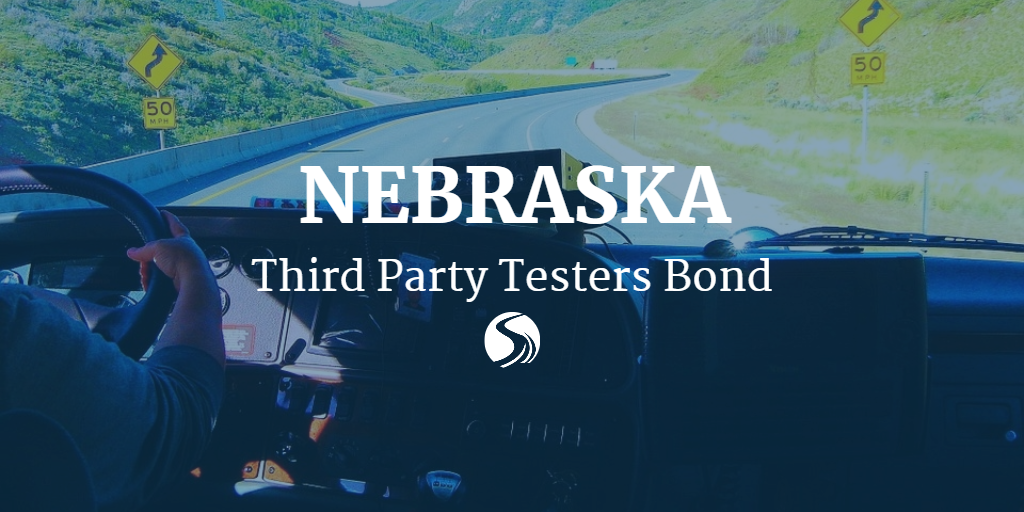 Surety bond for some nebraska third party cdl testers for Third party motor vehicle division